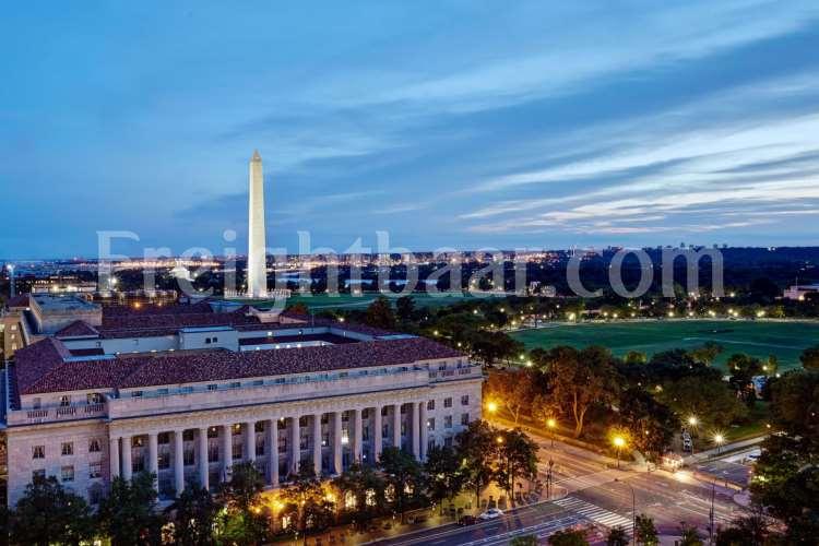 فریت بار به واشنگتن