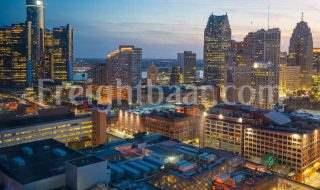 فریت بار به دیترویت با کمترین نرخ حمل بار